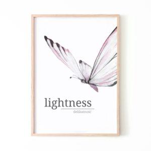 Plakat na ścianę Lightness