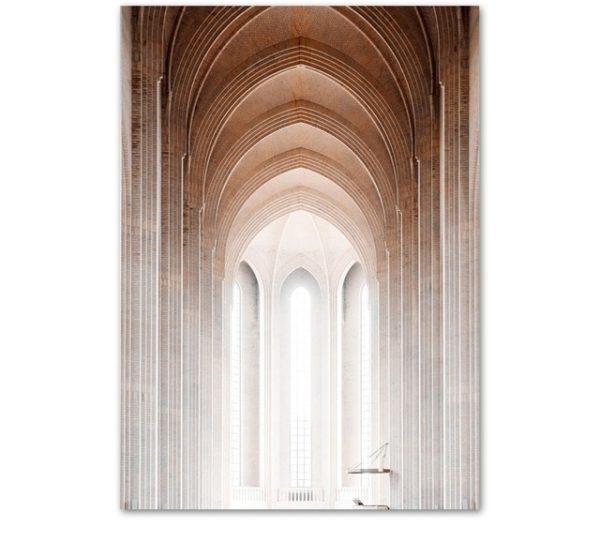Plakat na ścianę Church