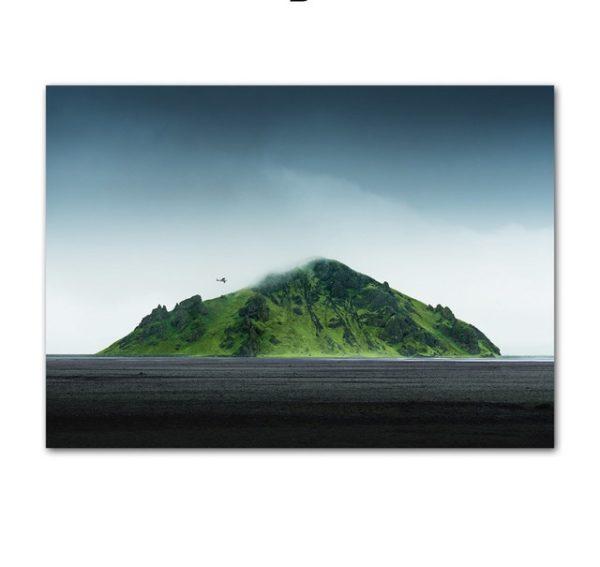 Plakat Mountain Island