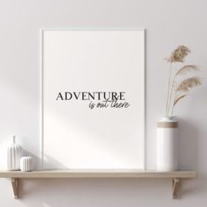 Plakat na ścianę Głębia błękitu adventure