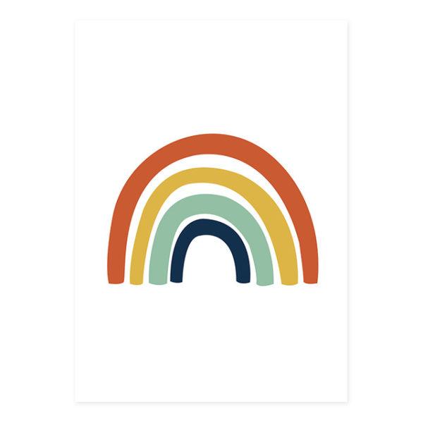 Plakat na ścianę Rainbow Colorful