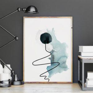 Plakat na ścianę abstrakcja