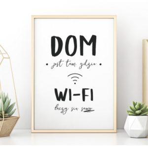 Plakat na ścianę Wi-Fi