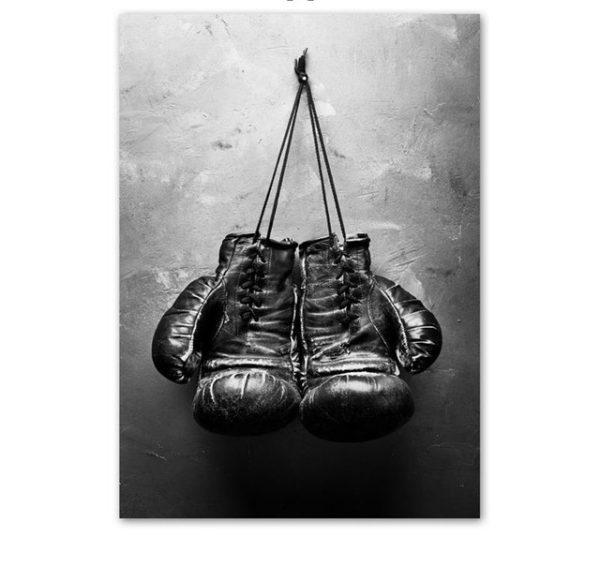 Plakat na ścianę boxing gloves