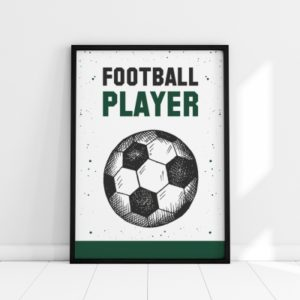 Plakat na ścianę Football Player