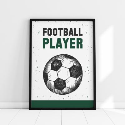 Plakat na ścianę Football Player