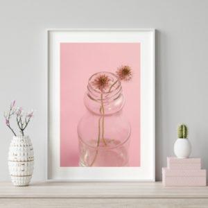 Plakat na ścianę kwiaty Różany Ogród