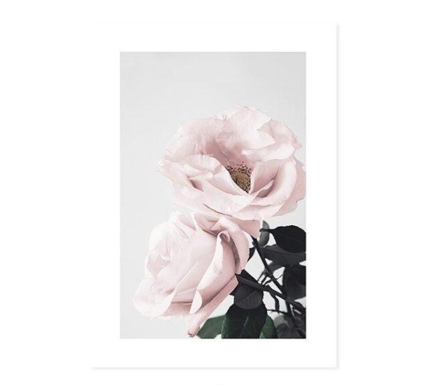 Plakat na ścianę Pink Garden