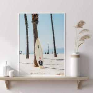 Plakat na ścianę Głębia błękitu Surfing