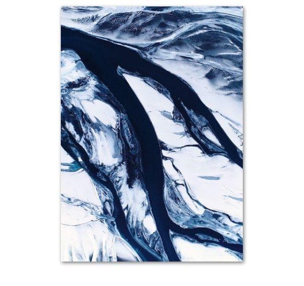 Plakat na ścianę Deep Blue Marble