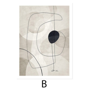 Plakat na ścianę Abstract Beige