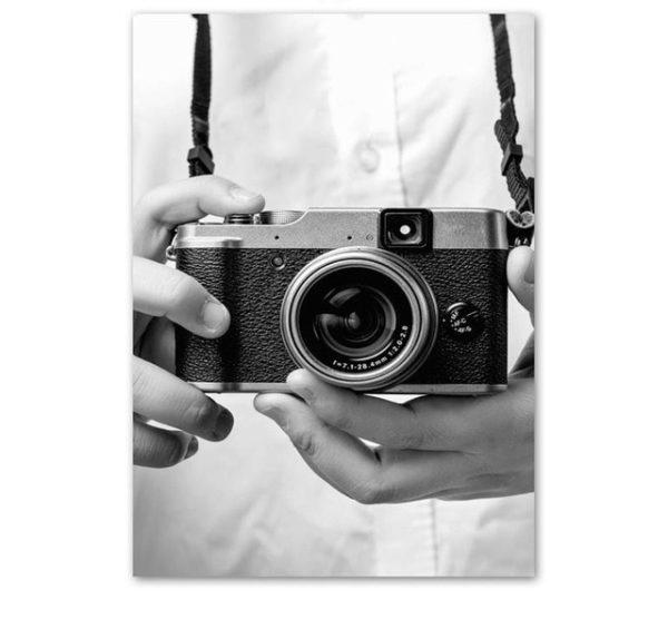 Plakat na ścianę Vintage Camera