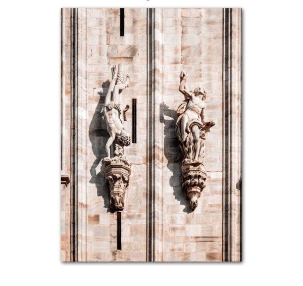Plakat na ścianę Sculptures