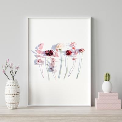 Plakat na ścianę Różany Ogród Kwiaty