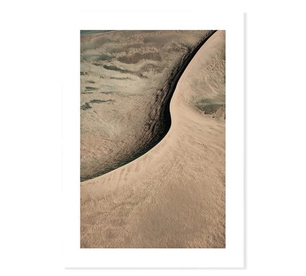 Plakat na ścianę Shiny Golden Sand