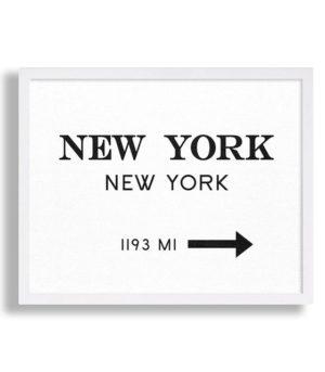 Plakat na ścianę New York
