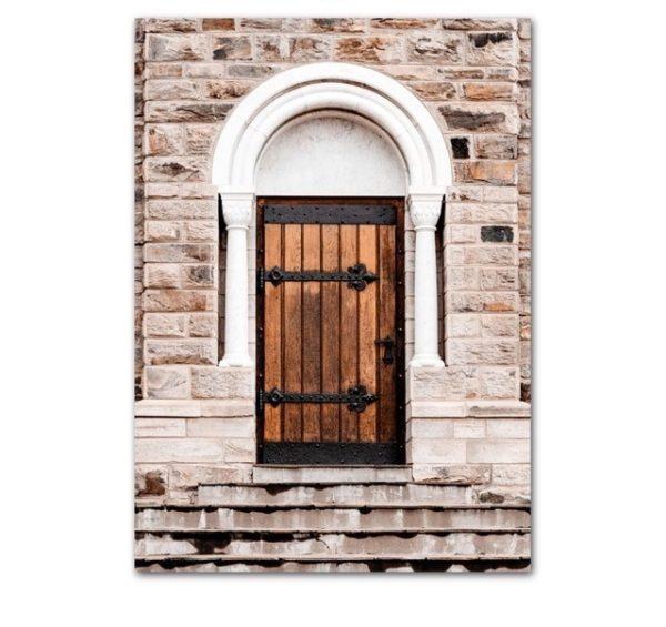 Plakat na ścianę Church door
