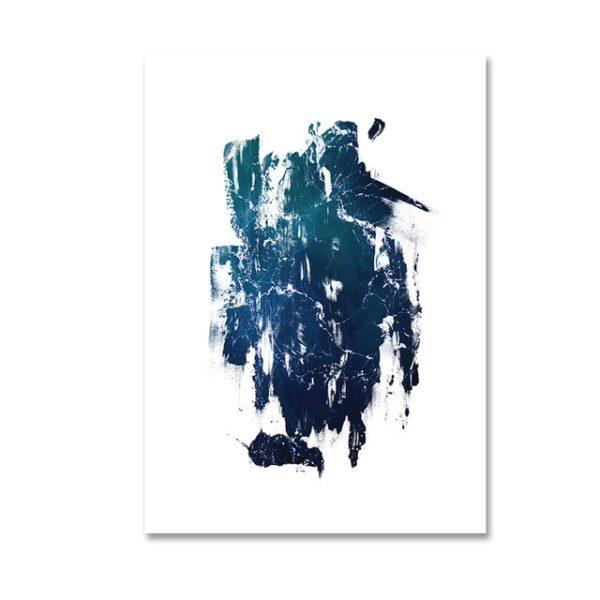 Plakat na ścianę Deep Blue Abstract