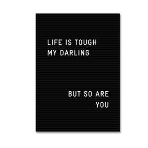 Plakat na ścian Life is Tough