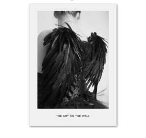 Plakat na ścianę Black Angel