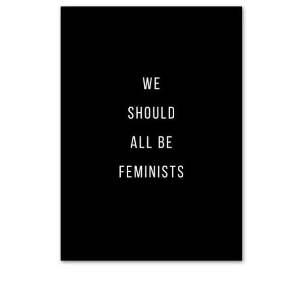 Plakat na ścianę Feminists