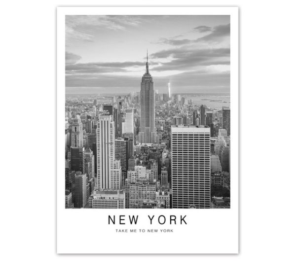Plakat na ścianę Take Me to New York