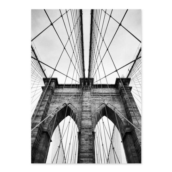 Plakat na ścianę Brooklyn Bridge