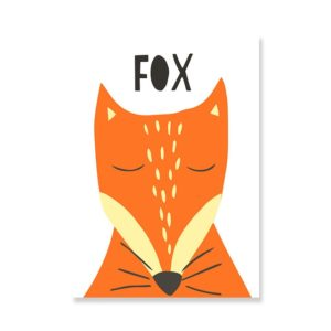 Plakat na ścianę Fox