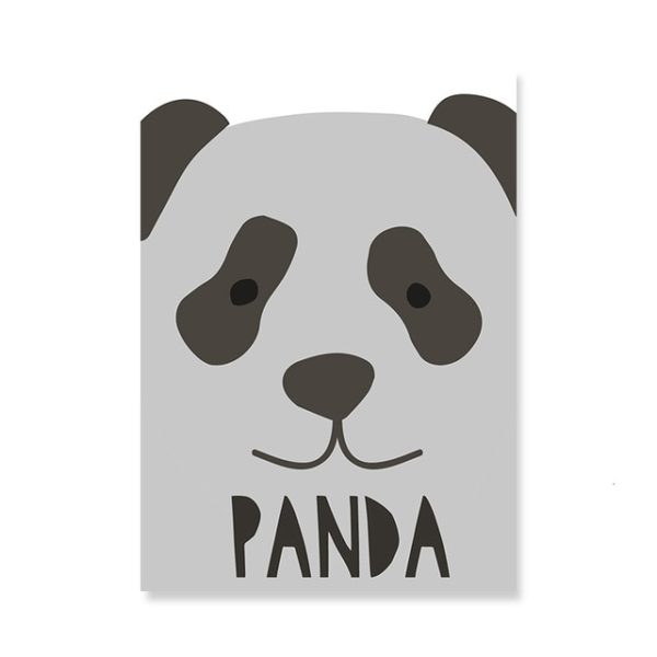 Plakat na ścianę Panda