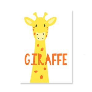 Plakat na ścianę Giraffe