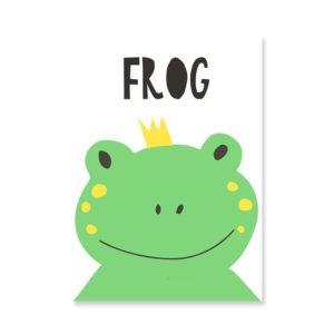 Plakat na ścianę Frog