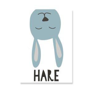 Plakat na ścianę Hare