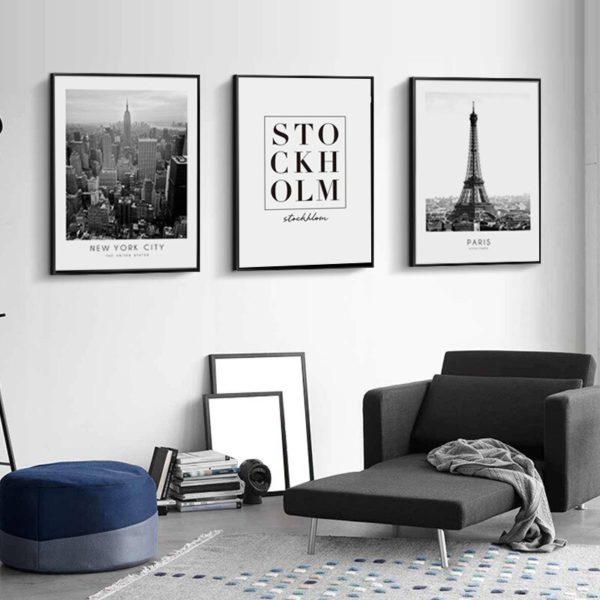 Plakat na ścianę Eiffel Tower