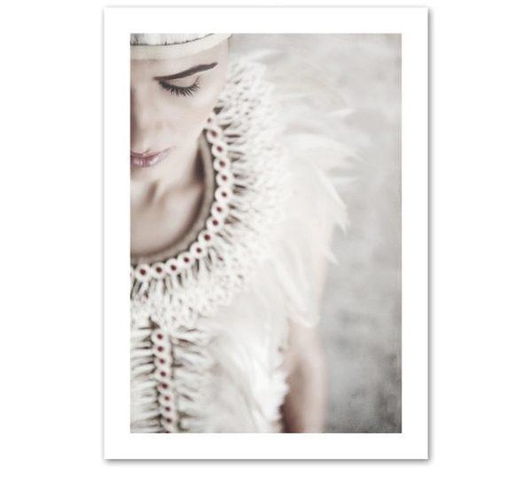 Plakat na ścianę Feather Woman