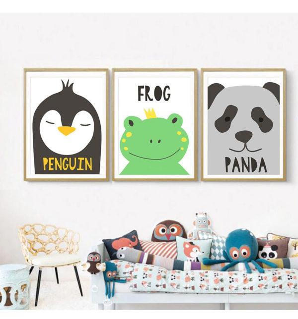 Plakat na ścianę Penguin