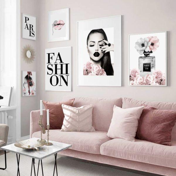 Zestaw plakatów do salonu