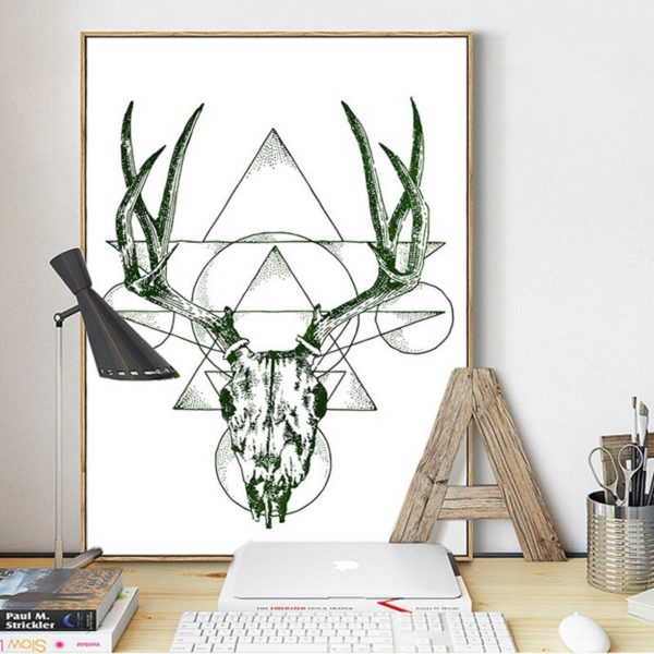 Plakat na ścianę Abstract Deer