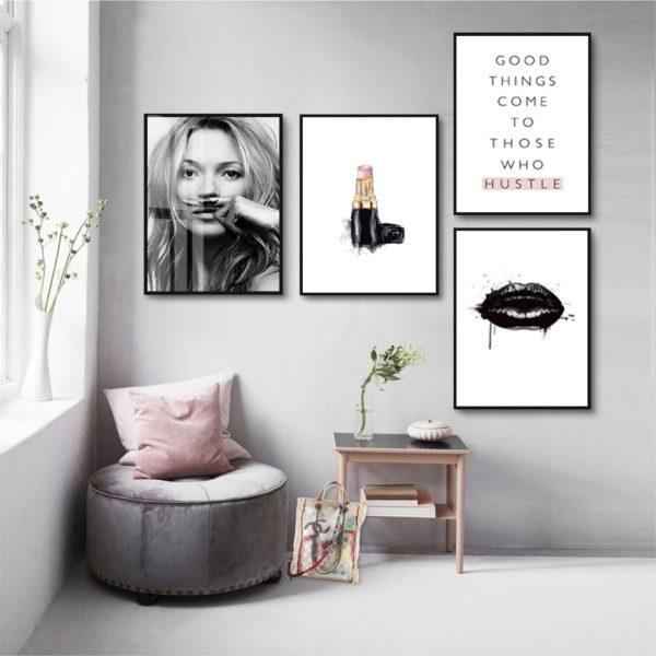 Plakat na ścianę Kate Moss