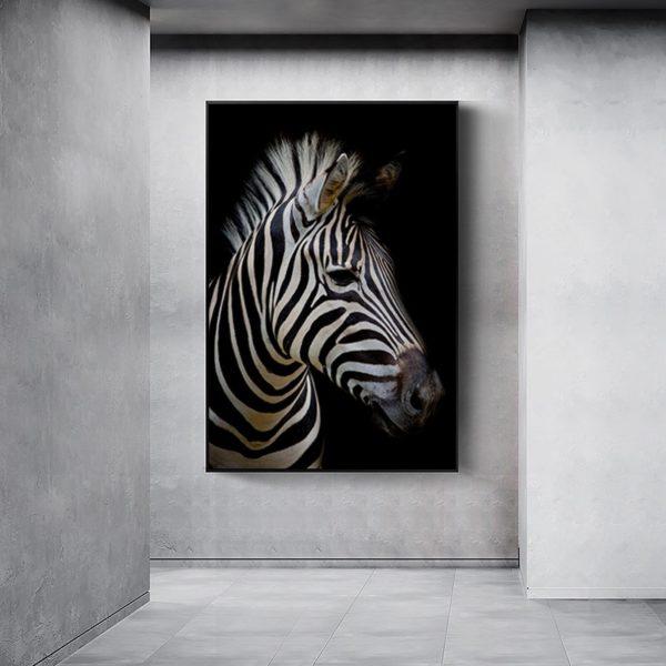 Plakat na ścianę Zebra