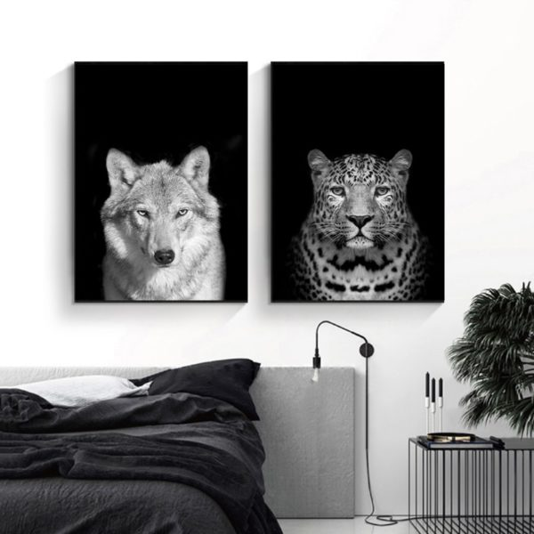 Plakat na ścianę Wolf