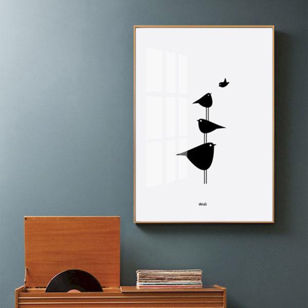 Plakat na ścianę Birds