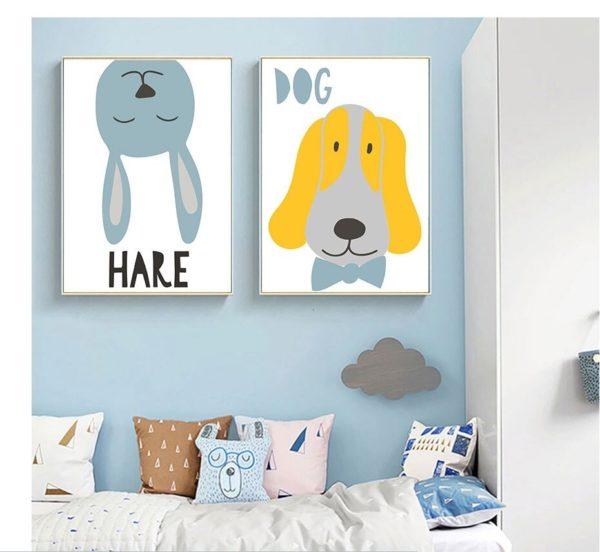 Plakat na ścianę Dog
