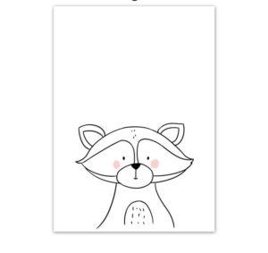 Plakat dla dzieci rysowany szop