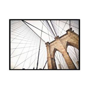 Plakat na ścianę Colorfull Brooklyn Bridge