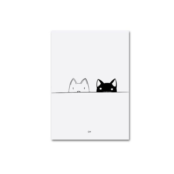 Plakat z napisem Cats