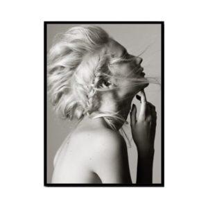 Plakat na ścianę Blond Girl