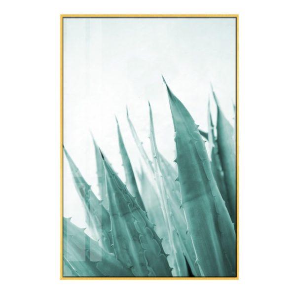Plakat na ścianę Mint Aloe