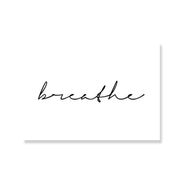 Plakat na ścianę Breath Horizontal Rectangle