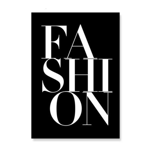 Plakat na ścianę Fashion