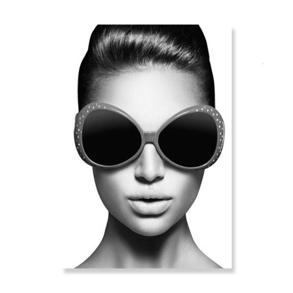 Plakat na ścianę woman in sunglasses